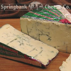 BLUE GORGONZOLA GREEN ITALY