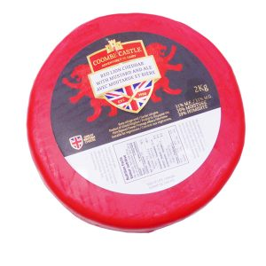 BEER CHEESE RED LION (MUSTARD & ALE)^ FIXED WT WH 2.2KG WALES